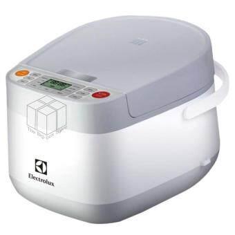 ขอเสนอ หม้อหุงข้าว 1.8ลิตร 700 วัตต์ Digital 3D รุ่น ELECTROLUX ERC6603W (Grey)