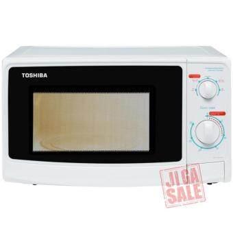 เตาอบไมโครเวฟ 23 ลิตร ลูกบิด 800วัตต์สีขาว รุ่น TOSHIBA ER-G23SC(W) (White)