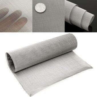 Harga 35x12'' 100 Micron Mesh Stainless Steel Woven Wire Cloth ScreenFilter Sheet NEW - intl