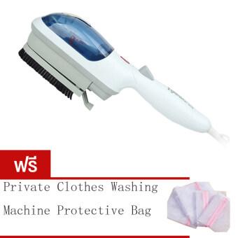 BEST Tmall Stream Iron Brush เครื่องรีดผ้าไอน้ำแบบพกพา รุ่น TM2106(สีน้ำเงิน) Free Private clothes washing machine protective bag