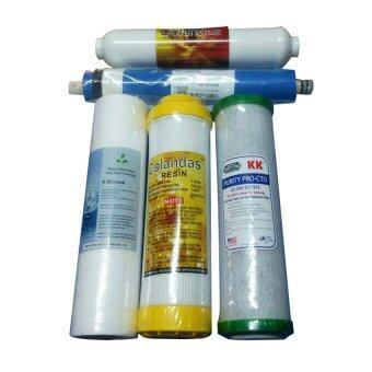 ราคา Better Life Shop ไส้กรองเครื่องกรองน้ำระบบ RO 50 GPD.( R) 5ไส้กรอง TY-01