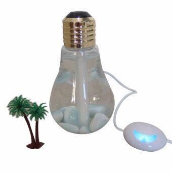 Bulb Humidifier เครื่องฟอกอากาศเเบบ USB ฟอกอากาศ อโรมา ไอน้ำ ระบายอากาศ ฟอกอากาศในรถ บ้าน [แบบที่1]