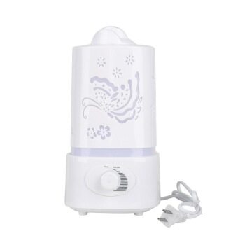 CHEER Ultrasonic Home Air Humidifier/Purifier (White)