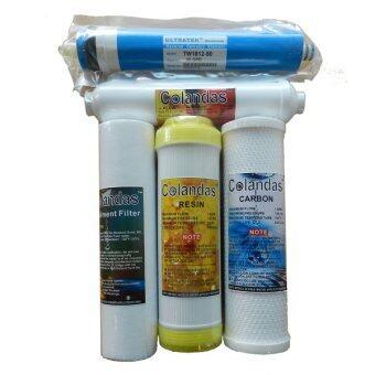 Colandas ชุดไส้กรองน้ำ เครื่องกรองน้ำระบบ RO 5 ไส้กรอง
