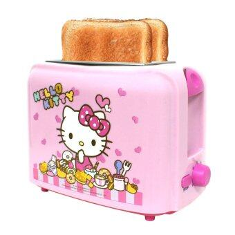 GALAXY เครื่องปิ้งขนมปังพิมพ์ลายคิตตี้ Hello Kitty รุ่น KW-123