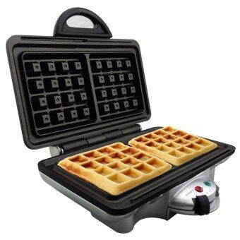 ต้องการขาย Getzhop เครื่องทำวาฟเฟิล อบเบลเยี่ยนวาฟเฟิล Waffle Maker Homemateรุ่น HOM-TSK2103W (Silver)