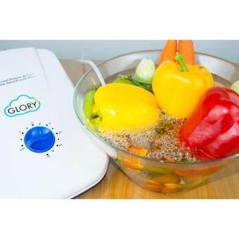 """เครื่องผลิตโอโซน เครื่องล้างผักผลไม้ ล้างเนื้อสัตว์ดับกลิ่นในรถยนต์ตู้เสื้อผ้าและภายในบ้าน """"GLORY"""" OZONER - 4"""