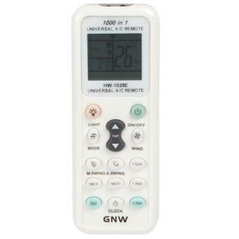 GNW K-1028E 1000 in 1 Universal A/C Remote Controller with Back Light Function for Air Conditioner - intl(…)