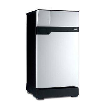 Haier ตู้เย็น 1 ประตู Muse series ขนาด 6.3 คิว รุ่น HR-CEA18-VS(สีเงิน/ดำ)