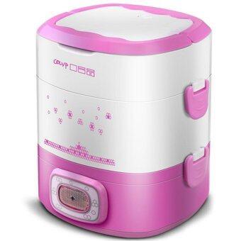 ต้องการขาย Hot item Multi-Function Electric Lunch Box กล่องใส่อาหารไฟฟ้าแฟชั่นคุณภาพสูง 1.8L/350W- Pink