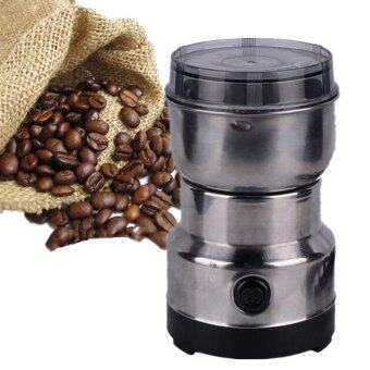 Harga Electric Coffee Beans Grinder Coffee Maker Nuts Mill Stainless Steel Grinding Machine Bean Nut Spice Herbs - intl