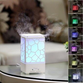 leegoal Aroma Diffuser Humidifier Chinese Water Cube 200ml Aromatherapy Aroma Diffuser Cool Mist Humidifiers With Auto-Shut-Off 7 Color LED Light For Home Yoga Office Spa Bedroom Baby Room - intl