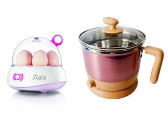 เปรียบเทียบราคา Maia เครื่องต้มไข่ + Maia หม้อต้มอเนกประสงค์