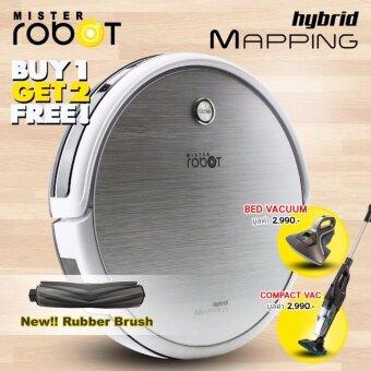 Mister Robot รุ่น HYBRID MAPPING แถมฟรี!! เครื่องดูดไรฝุ่น +เครื่องดูดฝุ่น Compact Vac