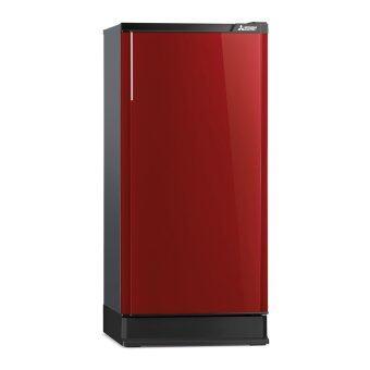Mitsubishi ตู้เย็น 1 ประตู รุ่น MR14KRD 4.9 คิว (สีแดงแพรไหม) ...