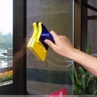 Moonar New Magnetic Window Wizard Double Side Glass Wiper CleanerUseful Surface Brush High-efficiency Cleaning