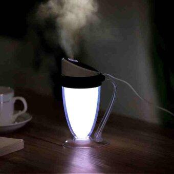 Harga Moonlight Cup Humidifier Air Diffuser Aroma Mist Maker Night-lightHome Office - intl