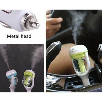 เครื่องเพิ่มความชื้น กลิ่นหอม ในรถยนต์ Nanum CAR Humidifiers 12V Car Charger Nebulizer Humidifier Mute Home Air Sterilization