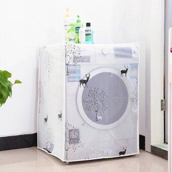 ชุดคลุมเครื่องซักผ้า สีใส ป้องกันน้ำ