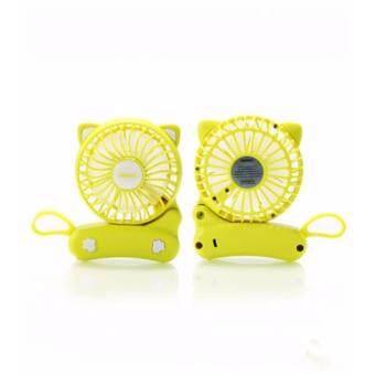 Remax Cat Foldable Fan F14 (Yellow)