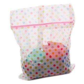 2560 SabuyOnline ถุงถนอนผ้า สำหรับใส่เครื่องซักผ้า (Pink)