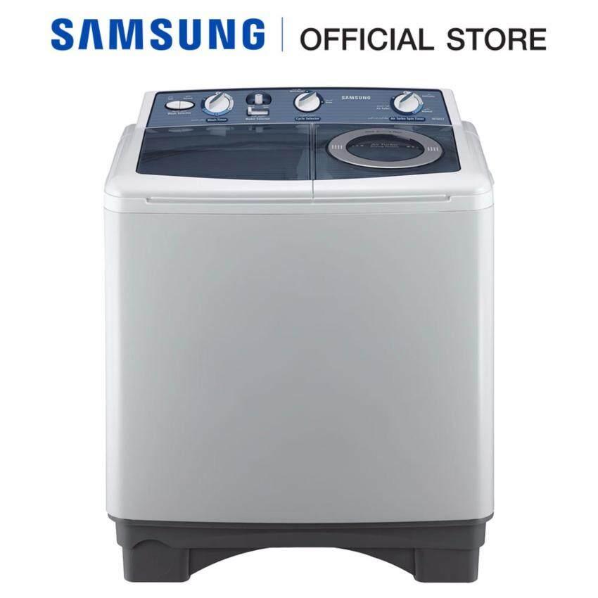 Samsung เครื่องซักผ้าฝาบน WT13J7EY/XST พร้อมด้วย Air Turbo, 10.5 กก.