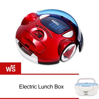 หุ่นยนต์ดูดฝุ่นอัจฉริยะ รุ่น TP-AVC702 (สีแดง) free Lunch Box(Blue)
