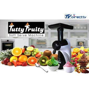 TVDirect เครื่องทำไอศครีมสด TUTTY FRUITY รุ่น ดีลักซ์ DELUXE