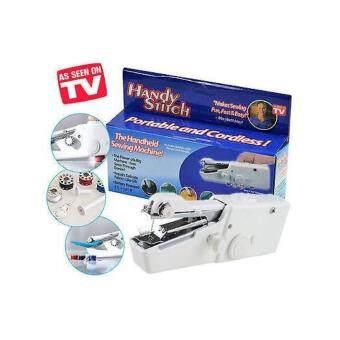 VAUKO : จักรเย็บผ้าไฟฟ้าพกพา แบบมือถือ รุ่น CLK HANDY STITCH-001-W