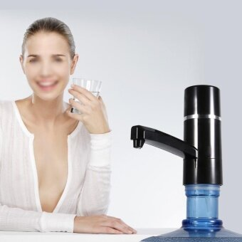 Wireless Electrical Bottle Drinking Water Pump Dispenser (Black) -intl