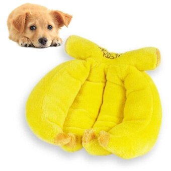 Harga Dog Toy Plush Self Healing Banana Shape Healthy Gum Teeth Durable 1Pcs Toy - intl