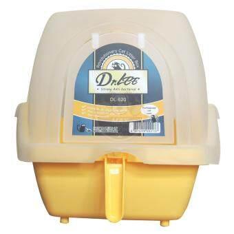 ห้องน้ำแมว Dr.Lee แบบโดม รุ่นขายดียอดฮิต DL-620 (สีเหลือง)
