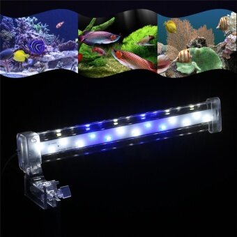 IBERL 1PC LED Aquarium Light Clamp Clip Lamp Light for Fish TankSubmersible Crystal S - intl