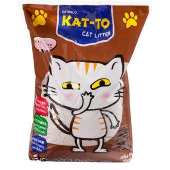KAT-TO Cat Litter 5 Litres (Coffee) แคทโตะ ทรายแมว กลิ่นกาแฟ ขนาด 5 ลิตร