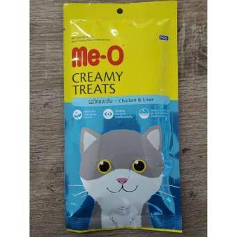 Me-o creamy ไก่ตับ 15g*4