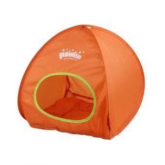 รีวิวพันทิป Pawise Cat Tent เต้นท์แมว 40x46.5cm. (คละสี)