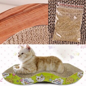 Pet Cat Bed Scratching Board Mat - intl - 3