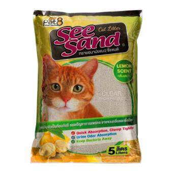 Harga See Sand Cat Litter Lemon 5 Litres x 4 units ������������������������������ ������������������������������������������ 5 ������������ ��������������� 4 ���������