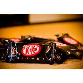 Kit Kat mini adult Sweetness คิทแคทรสดาร์คช็อกโกแลต x3 - 2