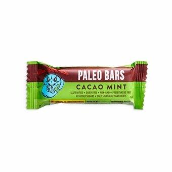 Paleo Bar รส Cacao Mint (12แท่ง/กล่อง)