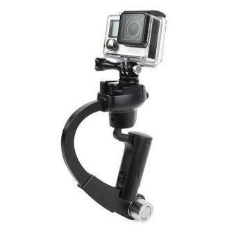 0SMAN Handheld Video Shooting Stabilizer Bow-shaped Steadycam Hand Grip for GOPRO Black