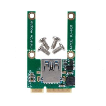 1 Set Mini PCI-E PCI-Express Card To USB 3.0 Male Converter Adapter Card - intl