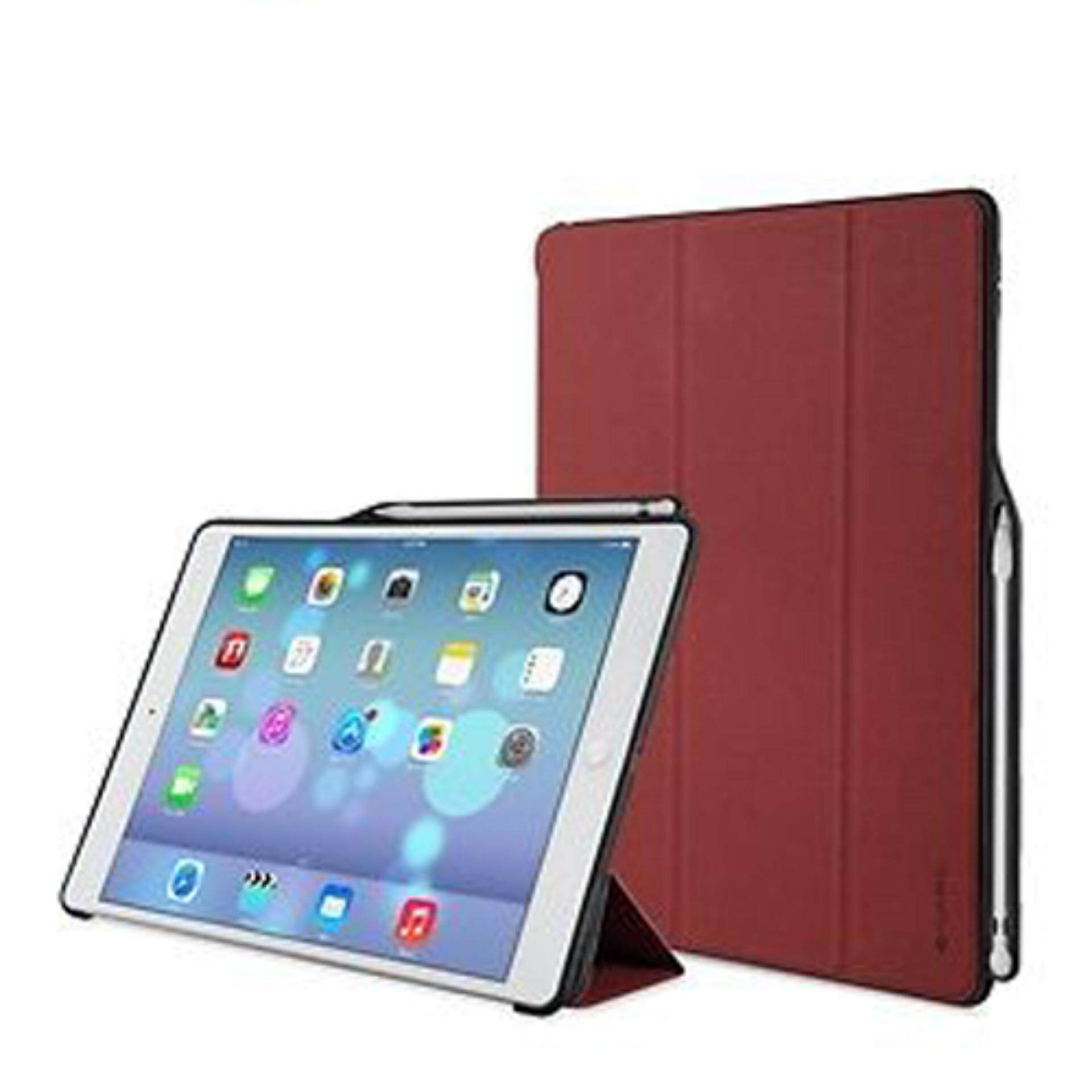 For Ipad Pro Leather Case Xoomz Knight Pu Book Folio 2 3 4 Belk Smartcover Red Ultraslim And Light 129 Ivapo Slim Flip Smart