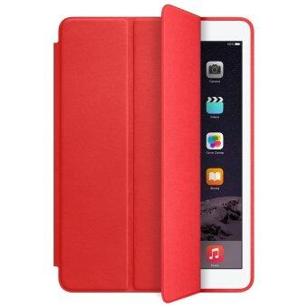 1st Cyber เคสไอแพด 2/3/4 รุ่น Ultra slim PU Leather Flip SmartStand Case For Apple iPad 2/3/4 (Red)