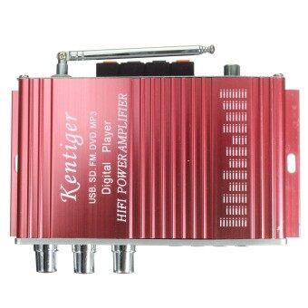 เครื่องเสียงลำโพงเครื่องขยายสัญญาณ 2-CH AMP สำหรับรถมอเตอร์ไซค์ MP3FM เสียงเพลงมินิ - 3