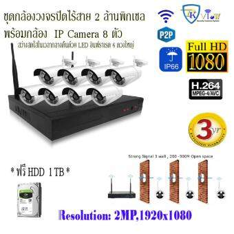 Wireless CCTV Kit 2MP 8CH