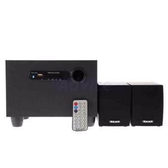 ราคา ลำโพ( 2.1) SAAG (Multy) + BLUETOOTH FM USB Black