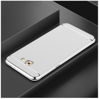3 In 1 Fashion Ultra Thin Matte Hard Case for For Samsung Galaxy C9Pro/C9(Silver) - intl