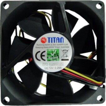 พัดลม 3.0 DC12V 0.28A TFD-8025HH12S TITAN
