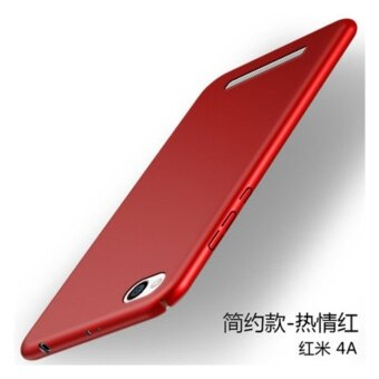 360 PC ultra-thin Phone Case for Xiaomi Redmi 4A/Red - intl